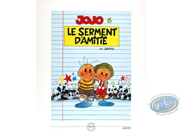 Offset Print, Jojo : Le serment d'amitie