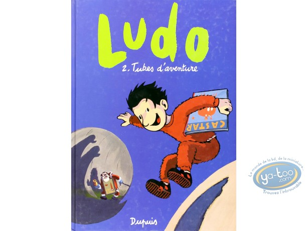 Listed European Comic Books, Ludo : Tubes d'Aventures (very good condition / dedication + bookplate)