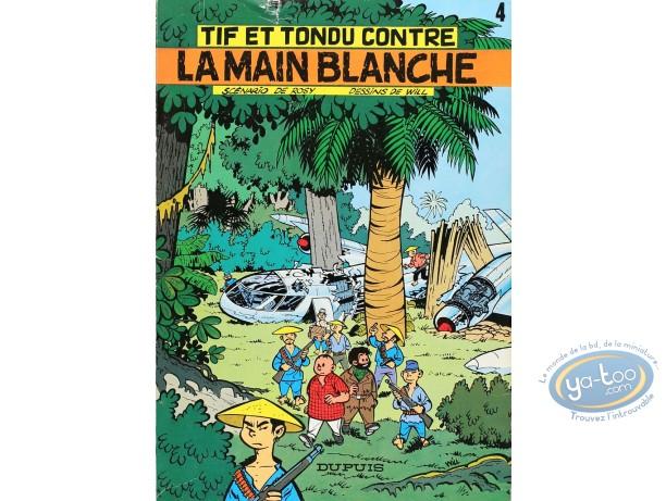 Listed European Comic Books, Tif et Tondu : La Main Blanche (nearly good condition)