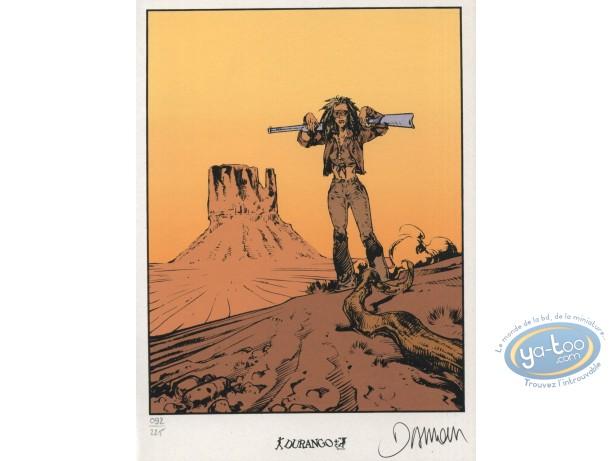Bookplate Serigraph, Nash : Desert