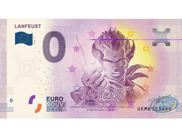 Coin, Lanfeust de Troy : Banknote Euro Souvenir 04