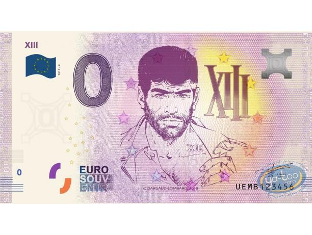 Coin, XIII : Banknote Euro Souvenir 06