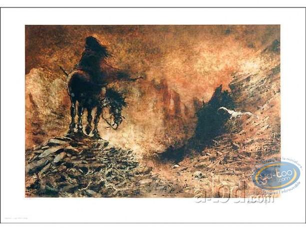 Offset Print, Laïyna : On Horse