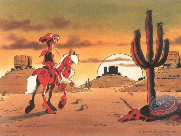 Offset Print, Lucky Luke : Sunset