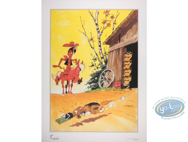 Offset Print, Lucky Luke : Mousetrap (big)