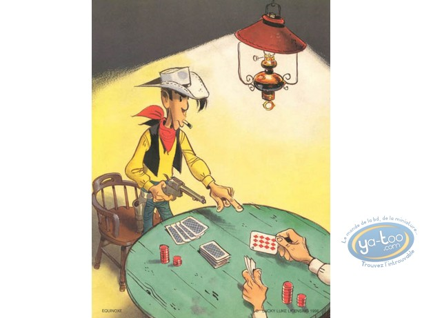 Offset Print, Lucky Luke : Poker