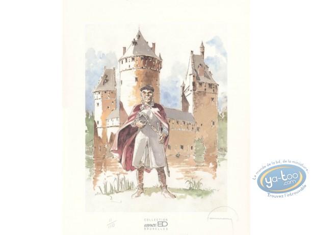 Offset Print, Tours de Bois-Maury (Les) : The Beersel's Castle
