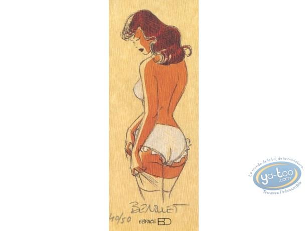Bookplate Offset, Pin-Up : Garter