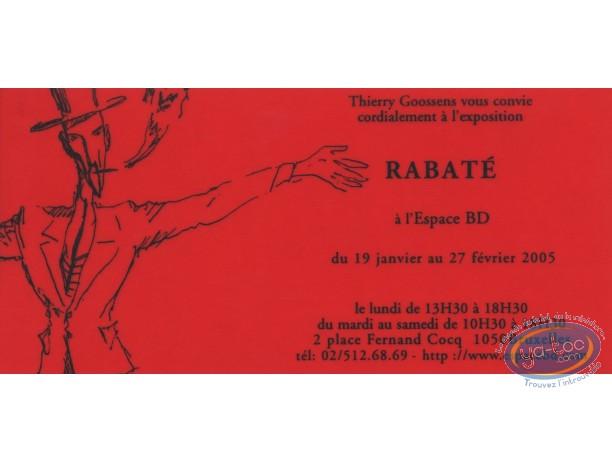 Bookplate Serigraph, Ibicus : Invitation