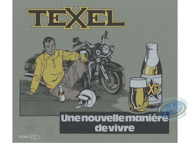 Bookplate Serigraph, Maîtres de l'Orge (Les) : Texel