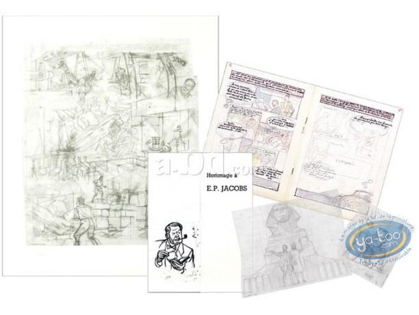 Portfolio, Blake and Mortimer : E.P. JACOBS