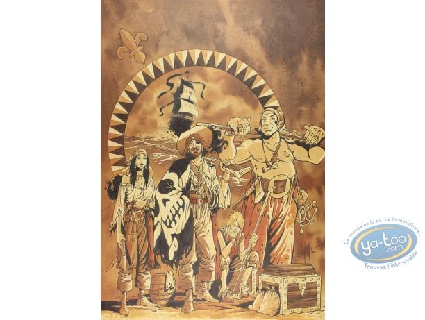 Offset Print, Manini, Pirates