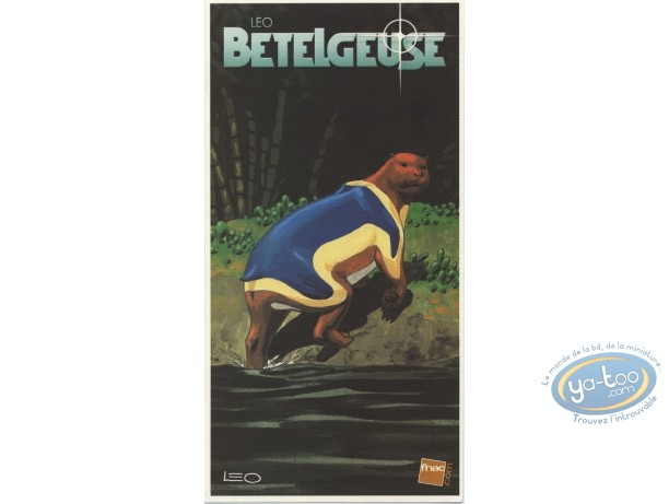 Bookplate Offset, Bételgeuse : Animal coming out of the River