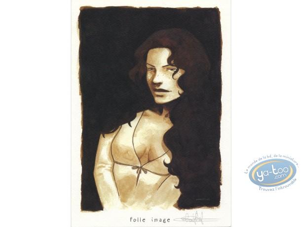 Bookplate Offset, Maître de Jeu (Le) : Woman portrait
