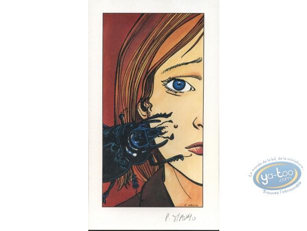 Bookplate Offset, Graines de Paradis : Lise