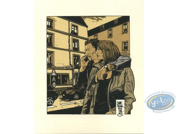 Bookplate Offset, Levée d'écrou : Couple
