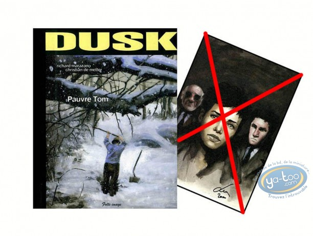 Reduced price European comic books, Dusk : Pauvre Tom (incomplete)