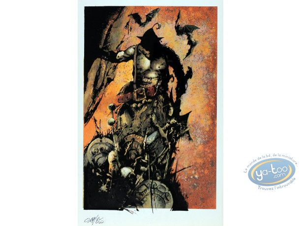 Bookplate Offset, Graine de Folie (La) : Monster