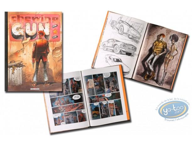 Reduced price European comic books, Chewing Gum : Chewing Gun