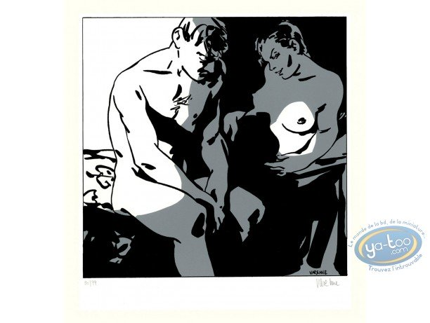 Serigraph Print, Corps à Corps : Body to body 1