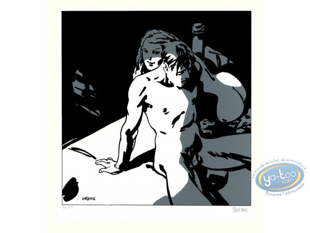 Serigraph Print, Corps à Corps : Body to body 13