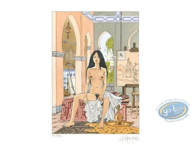 Aquarelle, Ateliers d'Artiste : Aziadé