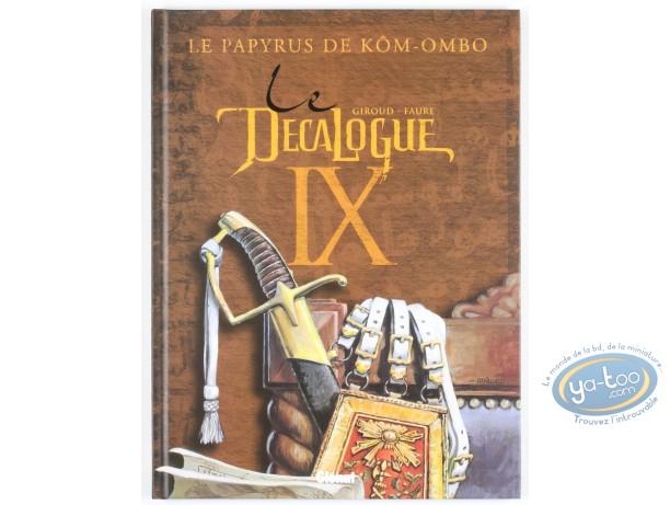 Listed European Comic Books, Décalogue (Le) : Le Décalogue IX, Le Papyrus de Kôm-Ombo