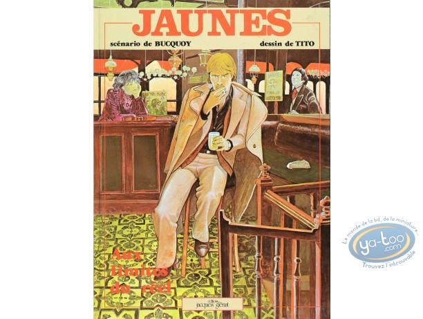 Listed European Comic Books, Jaunes : Aux limites du reel (good condition)