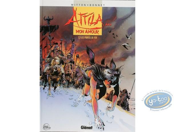 Listed European Comic Books, Attila mon Amour : Les Portes de Fer (very good condition)