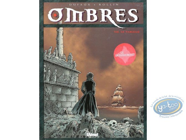 Listed European Comic Books, Ombres : Le tableau (very good condition)