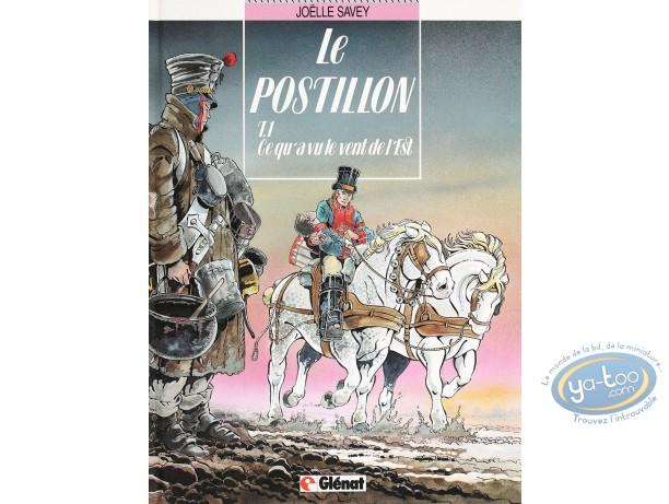 Listed European Comic Books, Postillon (Le) : Ce qu'a vu le Vent de l'Est (very good condition)
