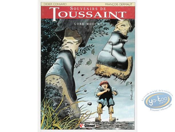 Listed European Comic Books, Souvenirs de Toussaint : Gobe-Mouche (good condition)