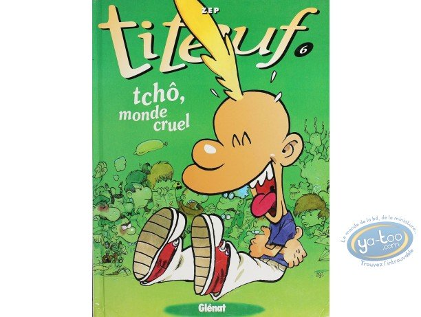 Listed European Comic Books, Titeuf : Tcho, monde cruel (nearly good condition)