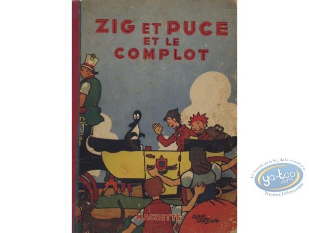 Listed European Comic Books, Zig et Puce : Zig et Puce et le Complot (nearly good condition)
