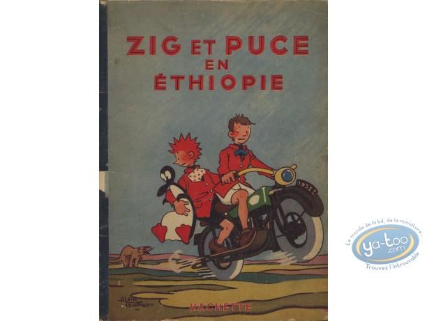 Listed European Comic Books, Zig et Puce : Zig et Puce en Ethiopie (nearly good condition)