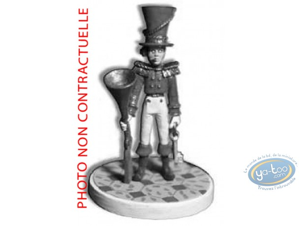 Metal Figurine, Nef des Fous (La) : Baltimore - White Tower (unpainted)