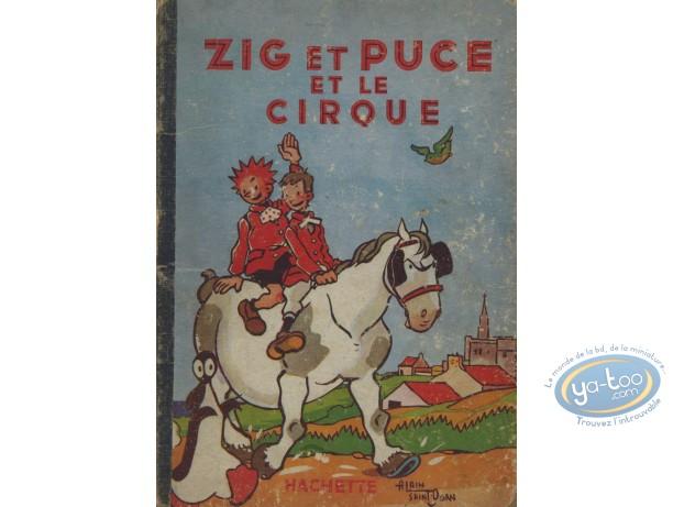 Listed European Comic Books, Zig et Puce : Zig et Puce et le cirque (nearly good condition)
