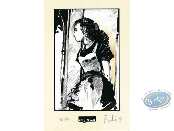 Bookplate Offset, Minuit à Rhodes : Maid