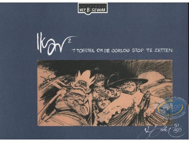 Bookplate Serigraph, Ikar : Ikar 2