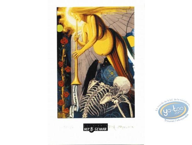 Bookplate Offset, Création (La) : Angel