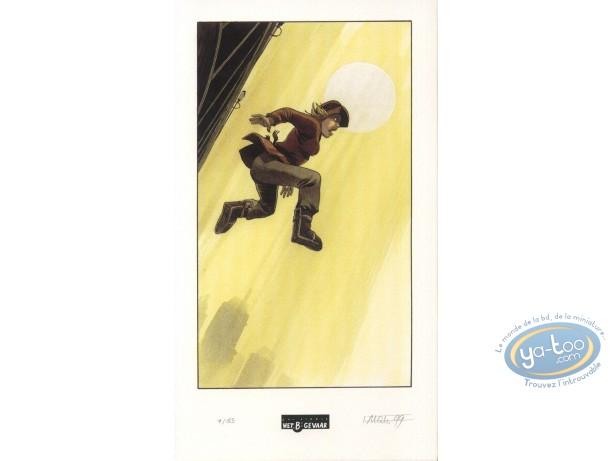 Bookplate Offset, Fond du Monde (Le) : Jump