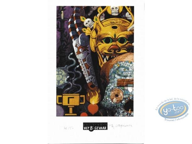 Bookplate Offset, Création (La) : Mask