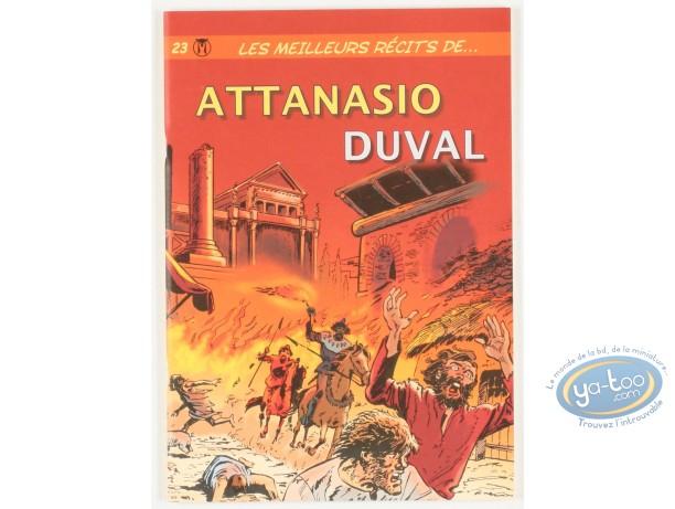 Reduced price European comic books, Les meilleurs récits de Attanasio et Duval, N°23