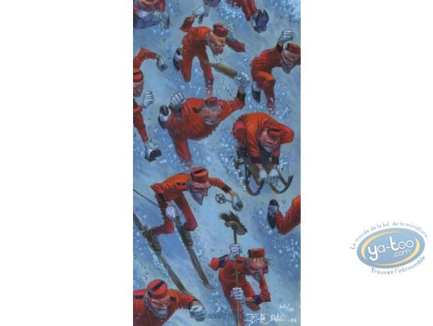 Bookplate Offset, Terre Mécanique : Spirous