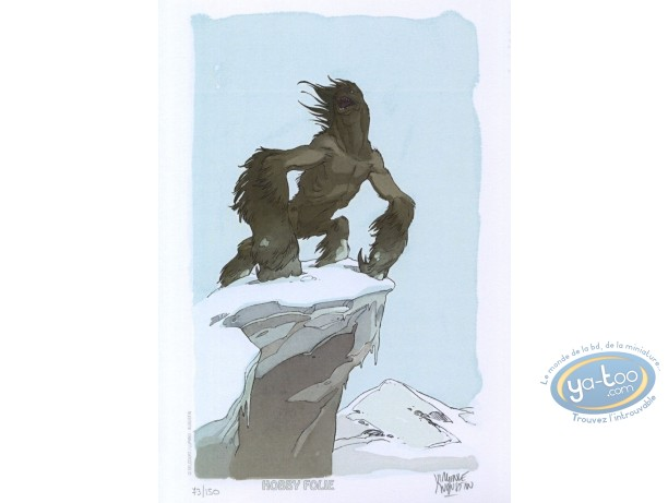 Bookplate Offset, Alim the Tanner : Snow Monster