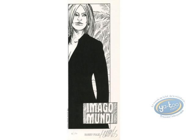 Bookplate Offset, Imago Mundi : Woman