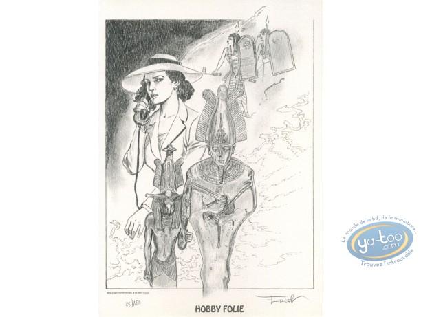 Bookplate Offset, Gardien de la Lance (Le) : Pharaoh
