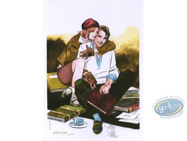 Bookplate Offset, Ordre de Cicéron (L') : Couple sitting