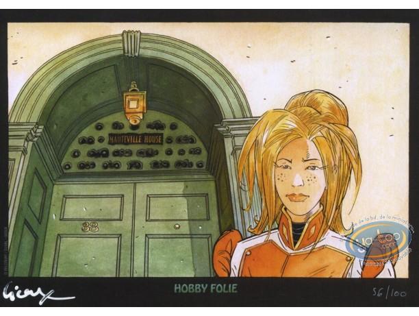 Bookplate Offset, Hauteville House : Blonde