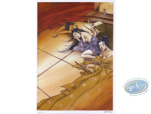 Bookplate Offset, Okiya : Geishas